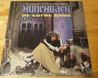 Vintage 1978 Hunchback of Notre Dame Vinyl Record Album Orchestra Universal Monster Casablanca