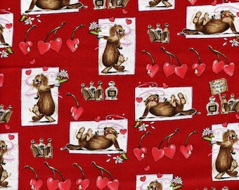 Love Potion No. 9 Valentine Fabric – by the Half Yard