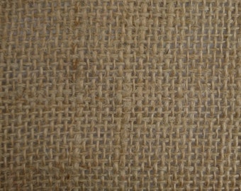 "Natural Burlap Fabric 45"" Wide Per Yard"
