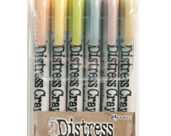 TIM HOLTZ #8, #9, #10 DISTRESS CRAYONs -  Choose one or All 3 Sets !