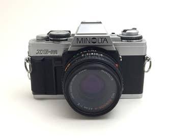 Minolta XG-M w/ 45mm f/2 Lens