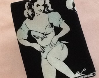 Pocket Square Reversible Pin Ups Pocket Square - Cotton Men's