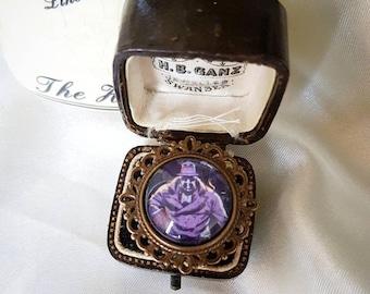 Rorschach Watchmen Filigree Ring