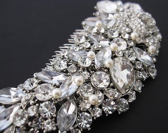 Vintage Bridal Hair Comb - Wedding Hair Accessories