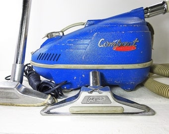 Vintage Vacuum Cleaner Interstate Compact Canister Vacuum