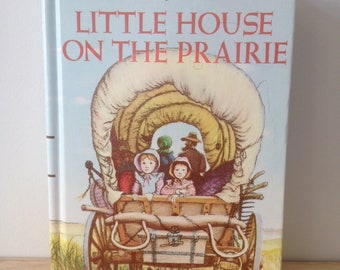 vintage Little House on the Prairie Book 80's