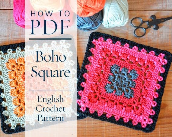 granny square crochet pattern pdf