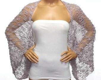 Wedding Shrug Knit Mink Shrug Cover Ups Shawls Wraps Long Sleeve Evening Shrug Weddings Bridal Accessories Shrugs Boleros Bridesmaids Gift