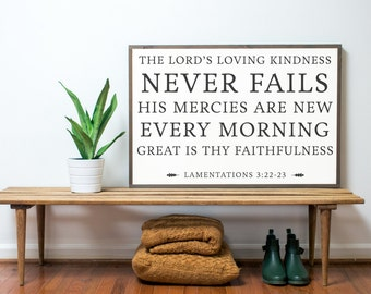 The Lord's Loving Kindness 3x2