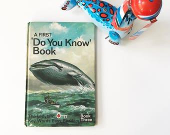 Vintage Ladybird Book A First Do You Know 3 Key Words Easy Readers Matt Hardback
