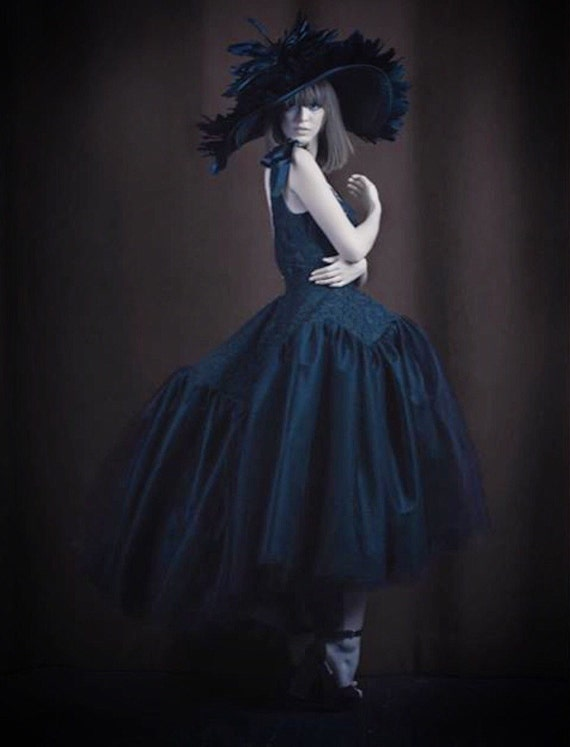Irina Shabayeva Lace Applique tulle cocktail dress. Comes in custom colors ..