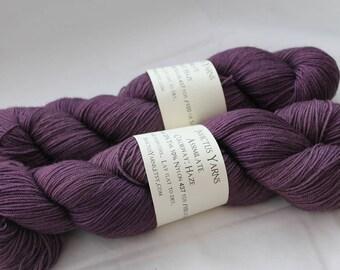 Haze Assimilate 70/20/10 Merino/Yak/Nylon fingering weight sock yarn
