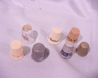 Sewing Thimbles 7 Some advertising see list