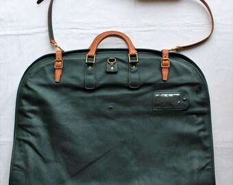 TANNER KROLLE For HARRODS Leather Suit/Garment Carrier. Fabulous.