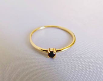 Dainty ring, stacking ring, thin ring, gold ring, silver ring, minimalist ring, stackable rings, gift for her, delicate ring, midi ring