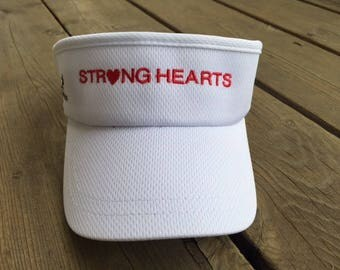 NEW Strong Heart Visor