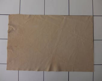 """Creme Tanned Deerskin Leather 13"""" x 21"""", Perfect for Handbags, Garment, Leather Crafts, Deerskin Project Pieces, Craft Piece, Leather Pieces"""