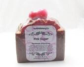 Pink Sugar cold process Soap