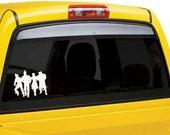 Wizard of oz car window sticker decal