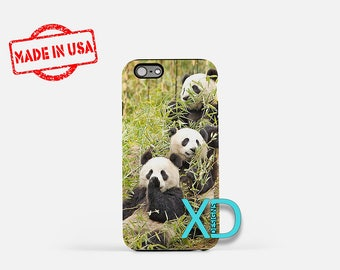 Panda Bear iPhone Case, Zoo Animal iPhone Case, Panda iPhone 8 Case, iPhone 6s Case, iPhone 7 Case, Phone Case, iPhone X Case, SE Case
