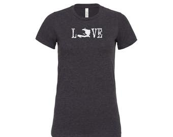 Love Haiti Soft Blend Women's Tee | Love Haiti Tee | Haitian Tee | Haiti Awareness | Haiti Shirt | Haiti Gift | International Adoption