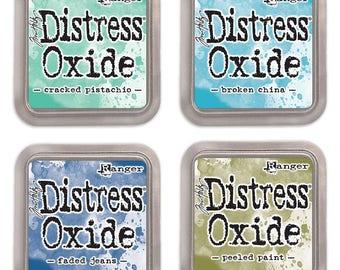 Ranger - Tim Holtz - Distress Oxide Ink Pads - Lot Bundle of 4 Pads #1