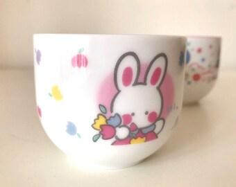 Vintage Cheery Chums ceramic tea Cup