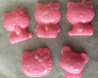 40 Qty - HELLO KITTY Soap Baby Shower, Party Favors