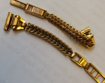 Vintage Delicate Gold Plated Watch Strap