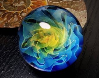 Blown Glass Marble by Jason Holley