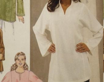 UNCUT and FF Pattern Pieces Kwik Sew 3377 Sewing Pattern Tunics Sizes. Extra Small thru Extra Large