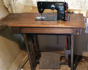 Restored Pfaff 230 Vintage Treadle Sewing Machine, by Stagecoach Road Vintage Sewing Machine Restoration- Local Pickup Only, near Eugene, OR