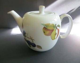 Royal Worcester Evesham Teapot and Lid