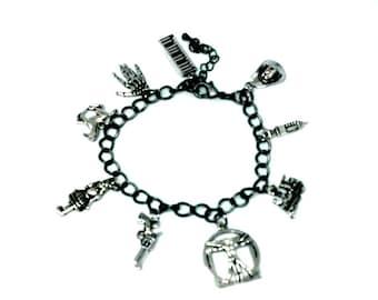 Westworld Charm Bracelet HBO TV show inspired Handmade Gift