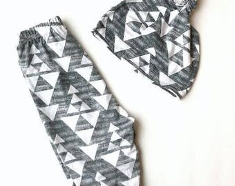 Greyson Harem Legging/Pants + Hat Set