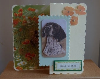 Pointer Greetings card