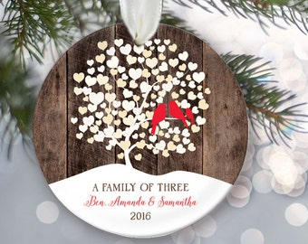Family tree ornament  Etsy