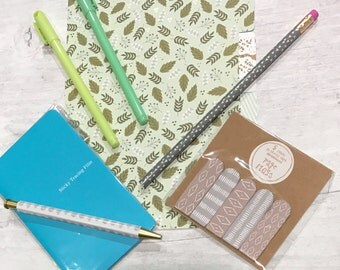 Planner Kit - Mint Theme - A5 Size