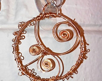 Ring Around the Steampunk pendant