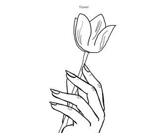 Hands Series- Flower
