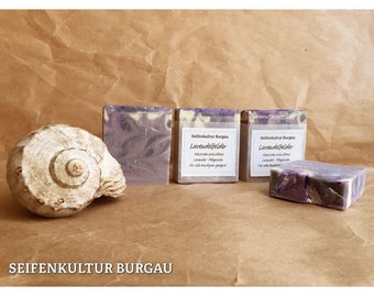 "Aroma SOAP ""Lavender fields"", palm oil-free"