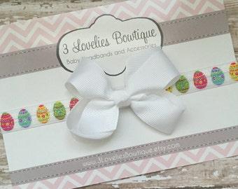 Easter Headband..Easter Baby Headband..Headband.Newborn Headband.Baby Girl Headband..Headband..Infant Headband..Baby Headband.Baby Headbands