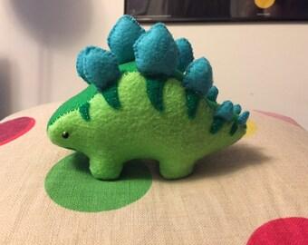 Felt Stegosaurus Dinosaur
