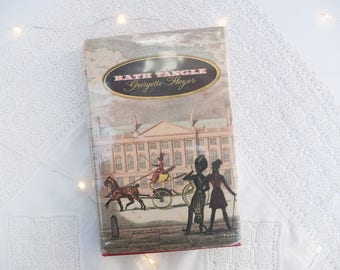 Vintage book: 'Bath Tangle' by Georgette Heyer - Georgian- Bath -England - UK, British novel - Jane Austen era - romance - romantic story