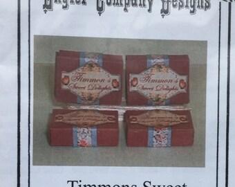 "Dollhouse Miniature Lisa Engler 1"" Scale Timmons Sweet Delight Box Kit (Itz)"