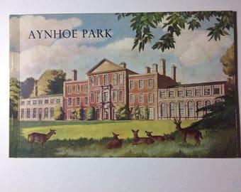 Aynhoe Park Souvenir Book, Illustrated Survey Northamptonshire Cartwright Family