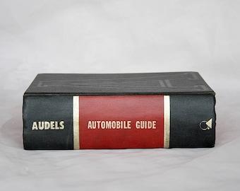Audels Automobile Guide - Vintage Audel Book - Vintage Auto Repair Book - Vintage Car Decor - Car Enthusiast Gift - Auto Enthusiast Gift