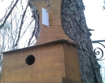 Hanging Birdhouse with metal roof
