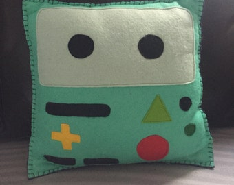 BMO themed Adventure Time pillow.