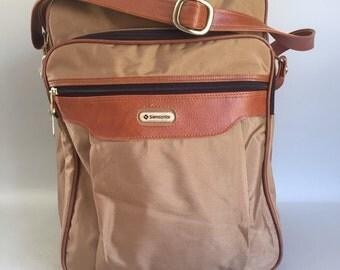 Vintage Samsonite Overnight Travel Bag